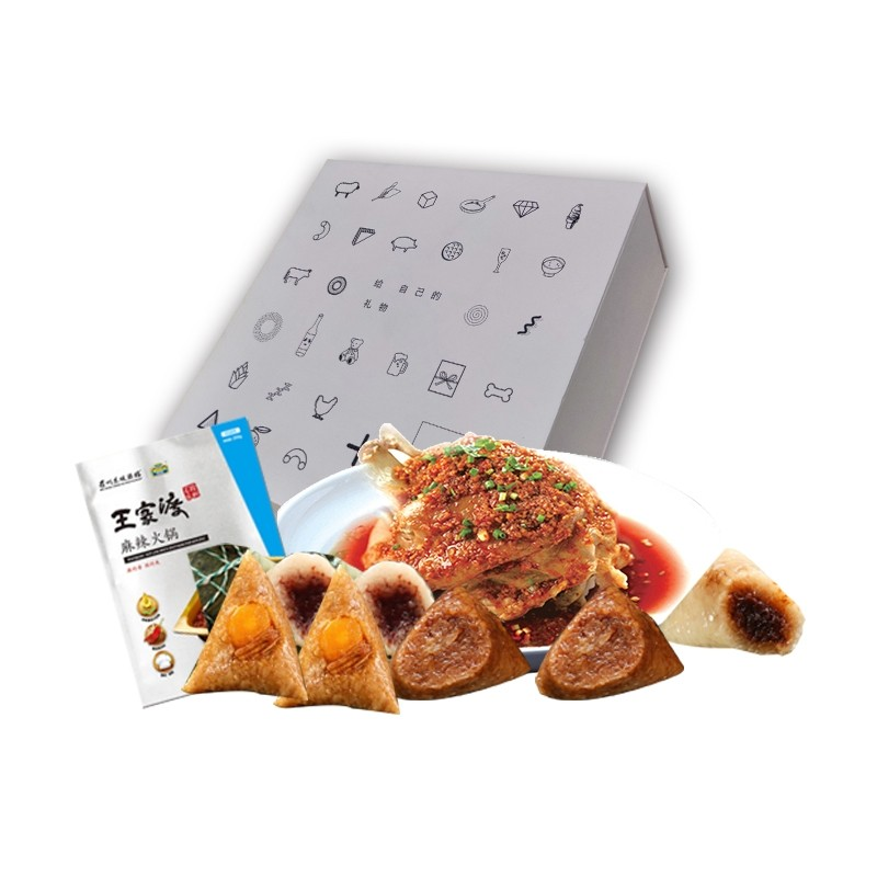 眉州东坡珍粽礼盒1670g