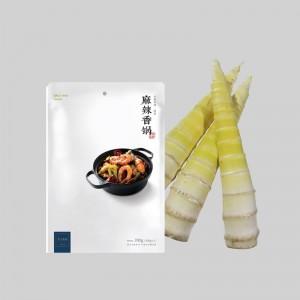 新鲜现挖春笋1500g(大熊猫同款雷笋 有机认证)+麻辣香锅料  仅津京冀地区送货